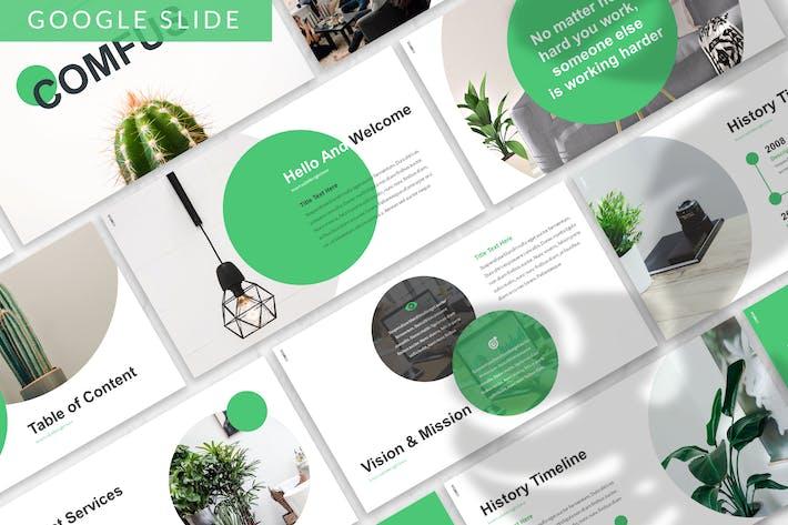 Thumbnail for Comfus - Растения Google Слайд Шаблон