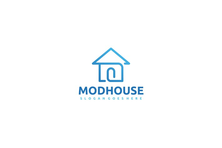 Thumbnail for Modern House Logo