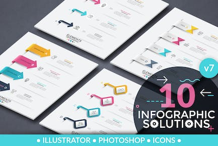 Infographic Solutions. Part 7