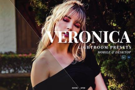 Veronica Mobile and Desktop Lightroom Presets