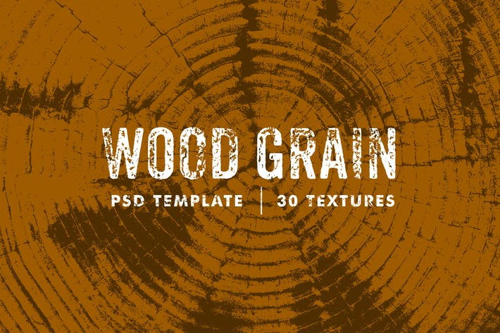 Thumbnail for Wood Grain Textures Template