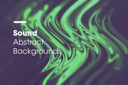 Sound   Abstrakte Hintergründe