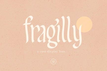 Fragilly - A Cute Font