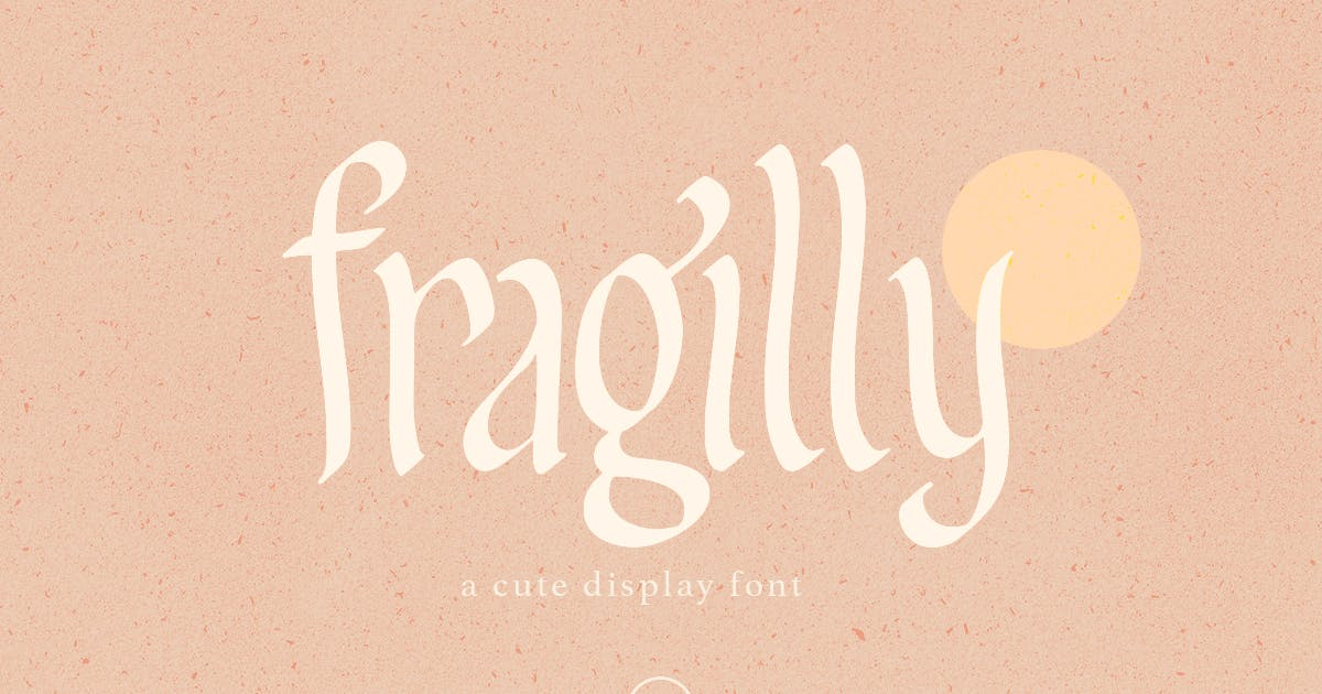 Download Fragilly - A Cute Font by saridezra
