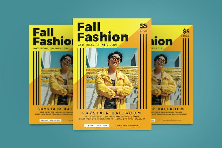 Thumbnail for Fall Fashion Flyer