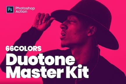 Duotone Master Kit - Super Easy Photoshop Actions