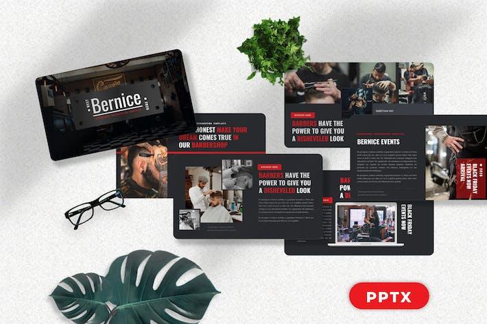 Bernice - Barbershop Powerpoint Templates