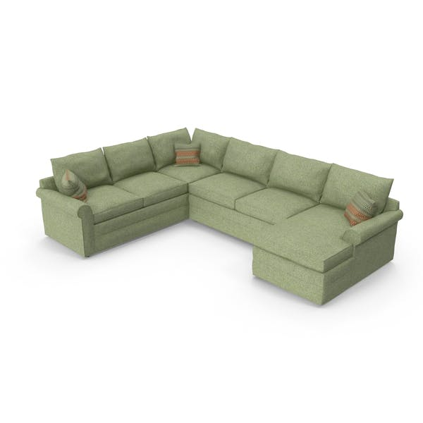 Cover Image for Classical Sectional Sofa
