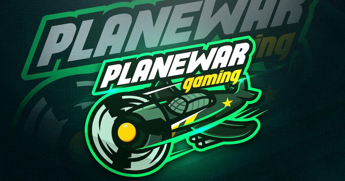 Download Planewar Gaming - Mascot & Esport Logo by aqrstudio
