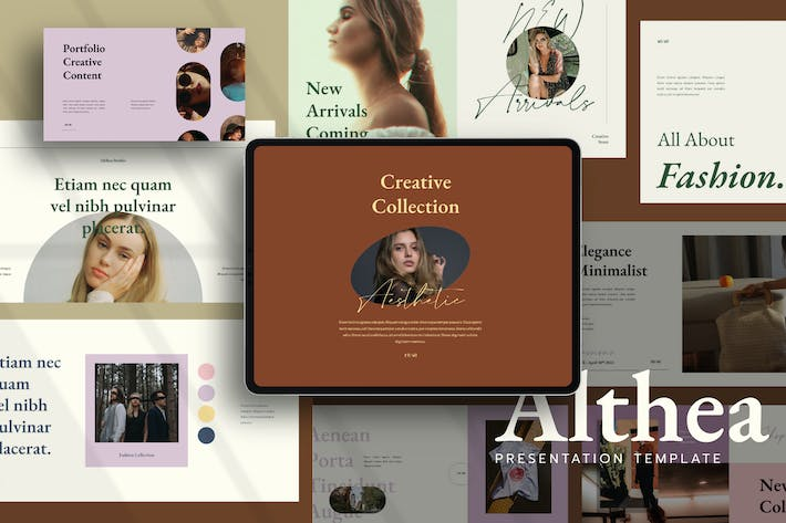 Althea Google Slides Template