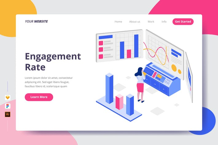 Thumbnail for Engagement Rate - Landing Page