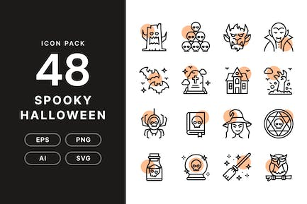 Spooky Halloween — Icon Pack