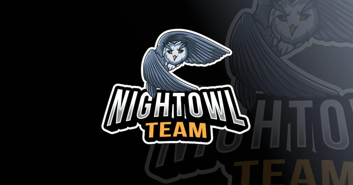 Download Night Owl Logo Template by IanMikraz