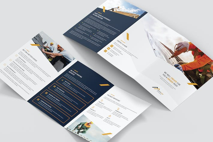 Thumbnail for Brochure – Roofer Tri-Fold A5