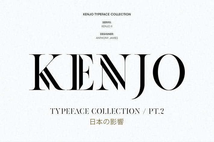 Thumbnail for KENJO FONTS | PT. II