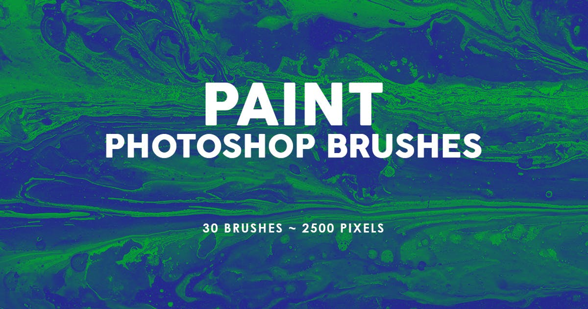 Download 30 Paint Texture Photoshop Brushes Vol. 1 by M-e-f