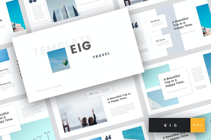 Thumbnail for Eig - Travel Keynote Template