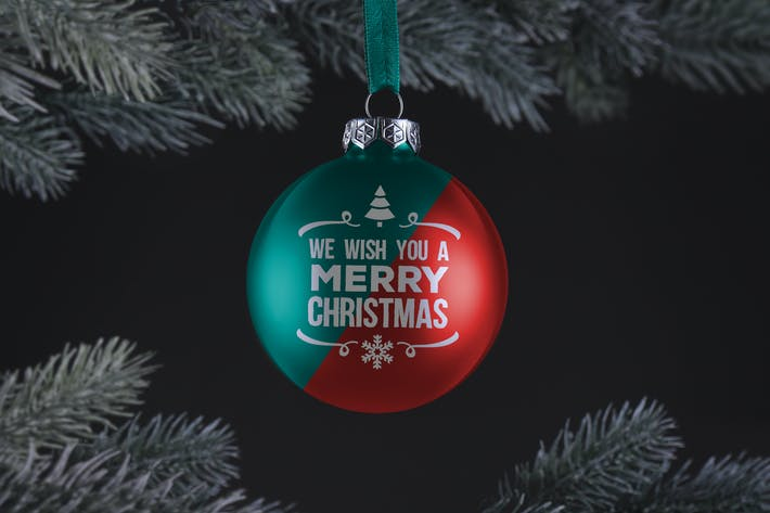 Thumbnail for Рождественский бал орнамент макет
