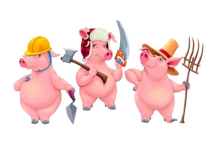 Thumbnail for Drei kleine Schweine