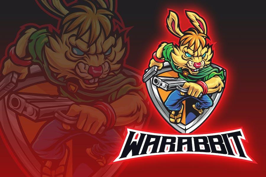 War Rabbit Esport Logo
