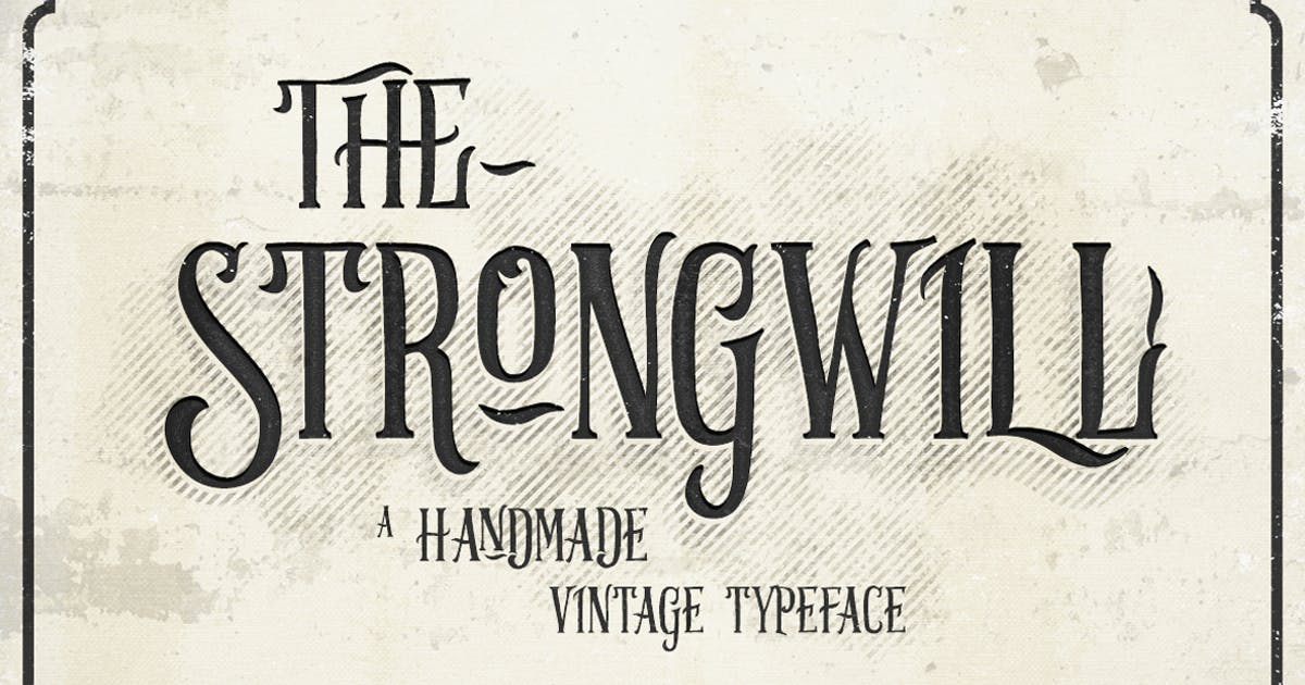 Download Strongwill Typeface by alterdecoinc