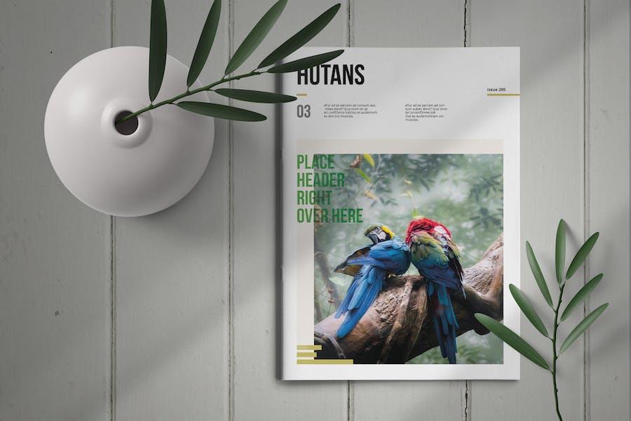 Hutans | Magazine Template
