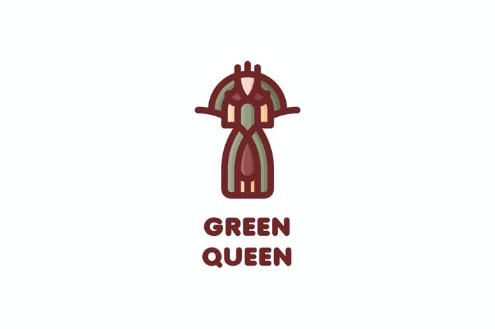 Cover Image For Green Queen