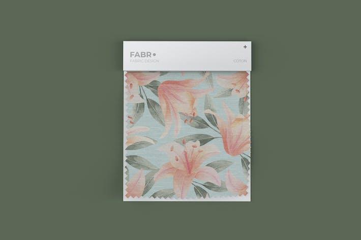 Fabric Swatch Mockup