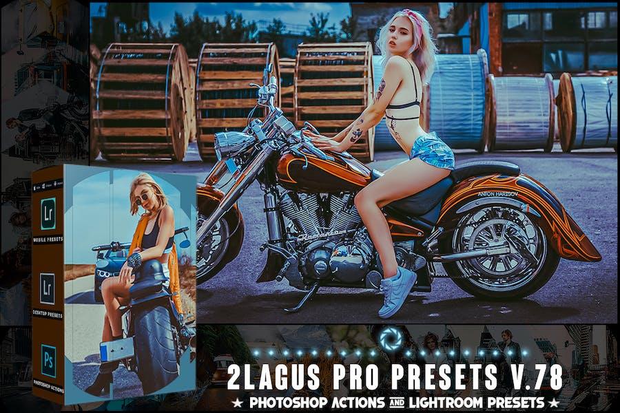 Пресеты PRO - V 78 - Photoshop и Lightroom