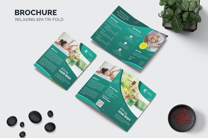 Relaxing Body Trifold Brochure