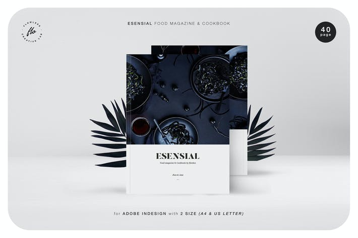 Thumbnail for Esensial Food Magazine & Cookbook