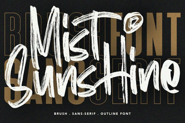 Mist Sunshine Font Bundle