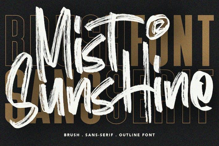 Thumbnail for Mist Sunshine Font Bundle