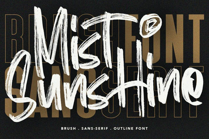 Mist Sunshine Font Bundle