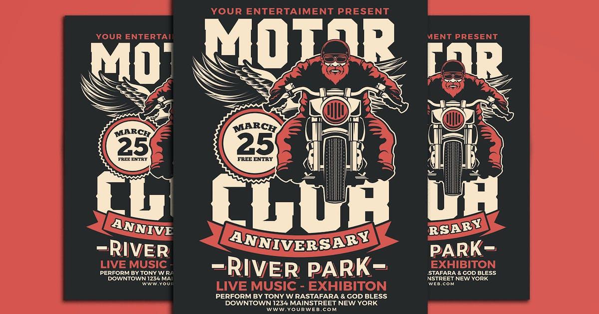 Download Motorcycle Club Event Flyer by Muhamadiqbalhidayat