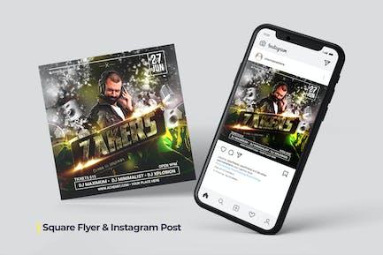 DJ Flyer - Social Post
