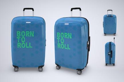 Travel Suitcase Mock-up