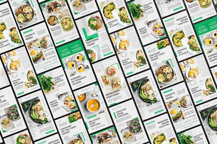 Essen Instagram Geschichten