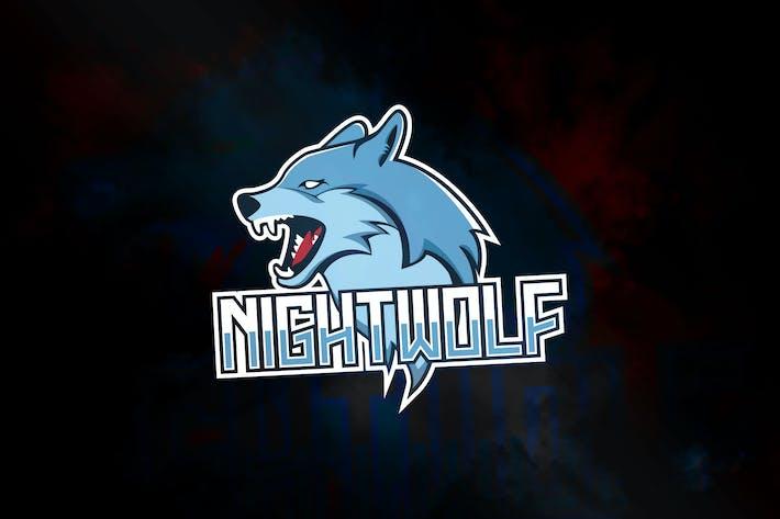Thumbnail for Nightwolf - Mascot & eSport Logo RB