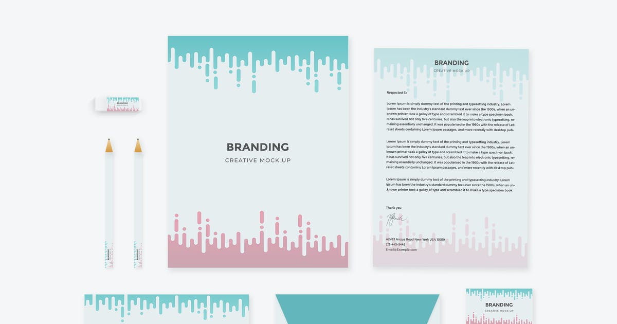 Download Brand Identity: Morse Code Mock up for Photoshop by themepassion