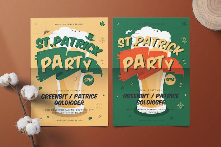 Cover Image For St.Patrick Celebration Flyer