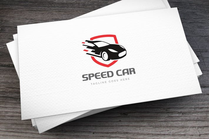 Thumbnail for Speed Car Logo Template