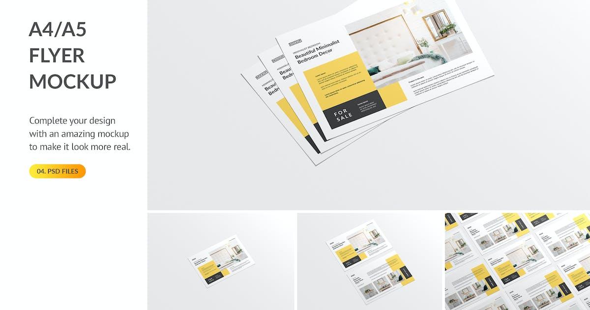 Download Landscape Flyer Mockup by docqueen