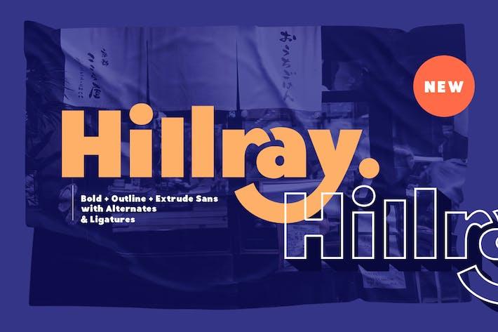 Thumbnail for Hillray - Elegante y atrevido Sans