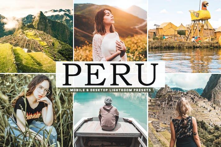 Thumbnail for Peru Mobile & Desktop Lightroom Presets
