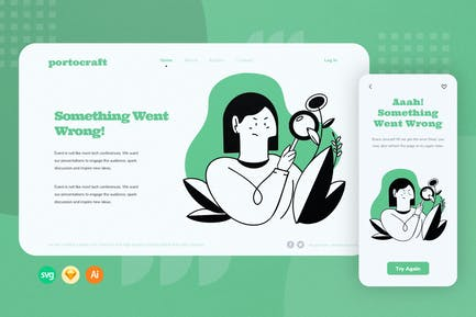 Searching Web Onboarding Illustration