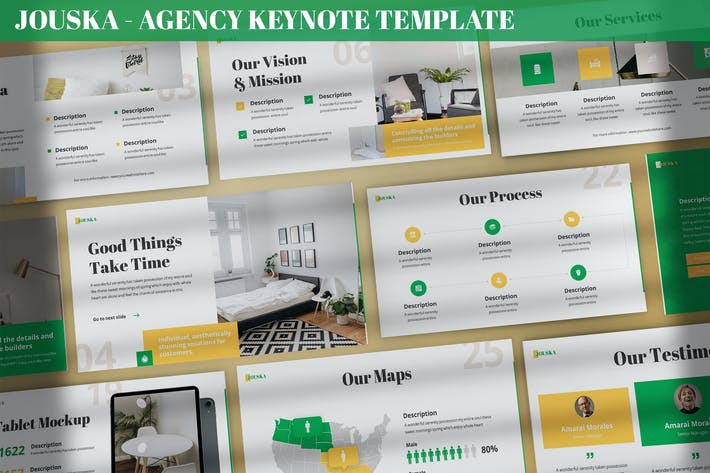 Thumbnail for Jouska - Agency Keynote Template