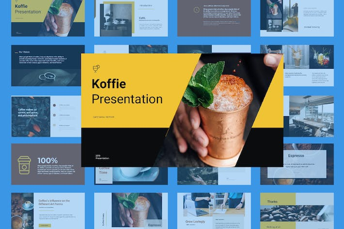 Thumbnail for Coffee Presentation Google SLide