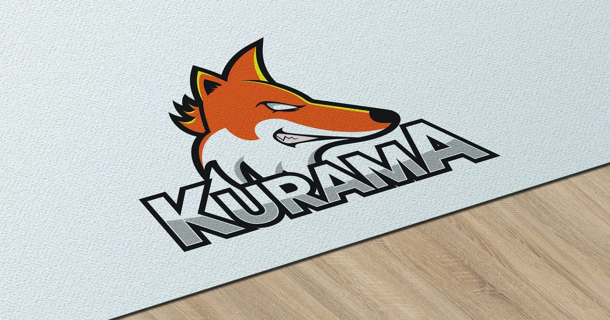 Download Kurama eSport - Logo Template RB by Rometheme