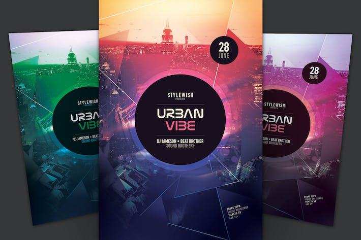Thumbnail for Urban Vibe Flyer